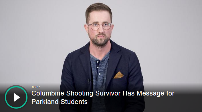 Columbine shooting Survivor drug addiction speaker